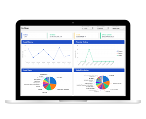 shipper tms dashboard showing reports and analytics on desktop
